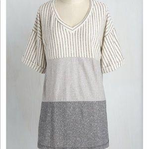 ModCloth Striped Tunic Tee